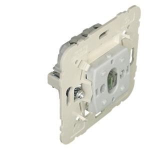 21024 - Механизм одноклавишного выключателя двухполюсный с сигнальной лампой, 20 А