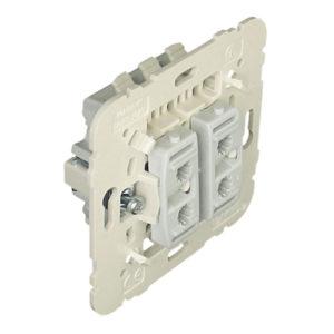 21101 - Механизм  двухклавишного проходного выключателя