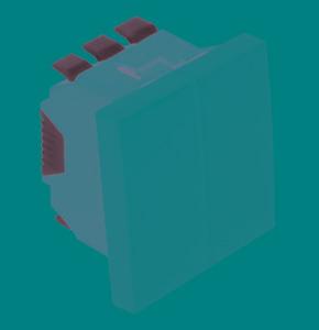 45295 - Механизм двухклавишного выключателя для жалюзи с механической блокировкой