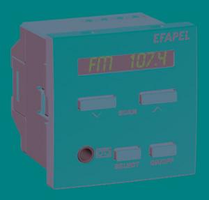 45392 - Одноканальный стерео центральный блок с FM