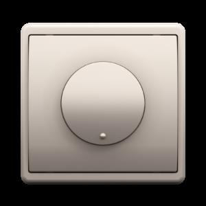 Диммер/проходной выключатель - Metalized PL