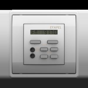 Одноканальный модуль с FM– тюнером, часами и дистанционным управлением - Metalized PR