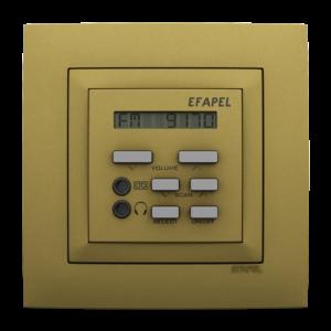 Одноканальный модуль с FM– тюнером, часами и дистанционным управлением - Aquarella DU