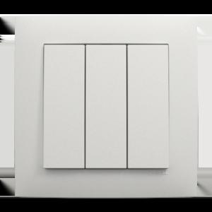 Трехклавишный выключатель - Aquarella GE