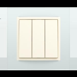 Трехклавишный выключатель  - Crystal CP