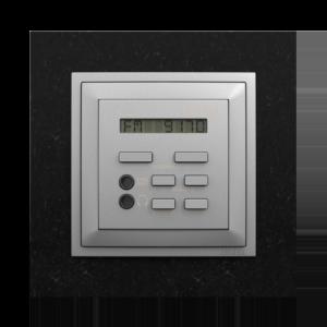 Одноканальный модуль с FM– тюнером, часами и дистанционным управлением  - PetraGA