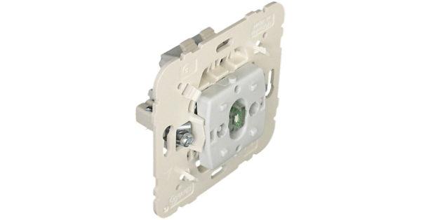 Механизм одноклавишного выключателя с подсветкой  1