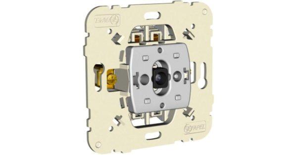 Механизм одноклавишного выключателя с сигнальной лампой  1