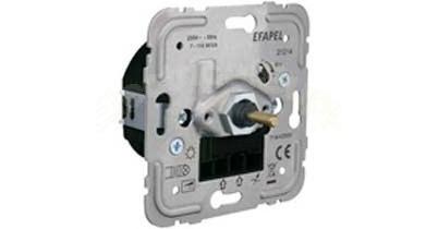Механизм диммера/проходного выключателя для энергосберегающих ламп