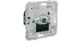Механизм электронного диммера/проходного выключателя для ламп низкой мощности – 150W 1
