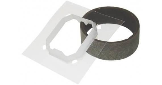 Комплект для влагозащиты IP44 для одноклавишного выключателя  1