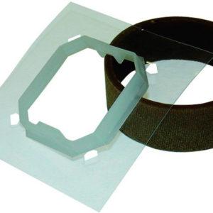 Комплект для влагозащиты IP44 для двухклавишного выключателя
