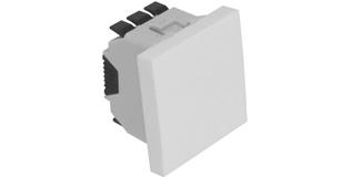 Перекрестный выключатель – 2 модуля – белый 1