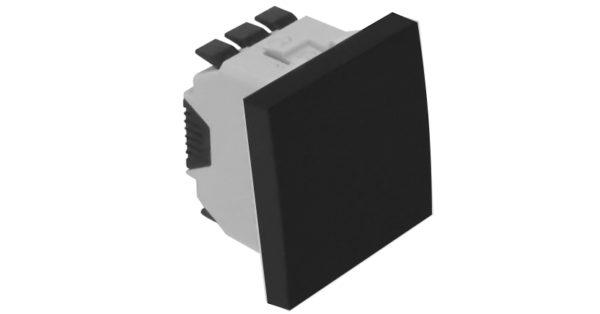 Перекрестный выключатель – 2 модуля – черный 1