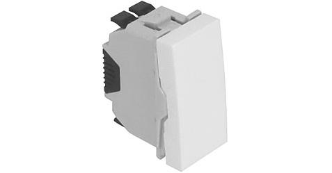Проходной выключатель – 1 модуль – белый 1
