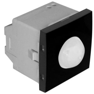 Датчик движения 1000W - 2 модуля - черный