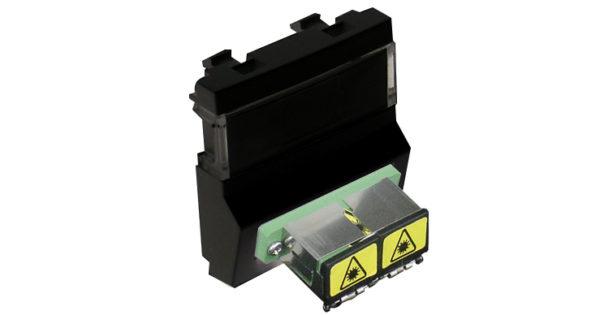 Модуль с разъемом для оптоволоконного коннектора типа 2xSC – 2 модуля – черный 1