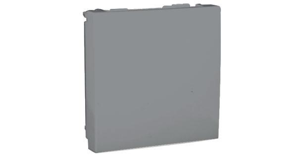 Заглушка – 2 модуля – графит 1