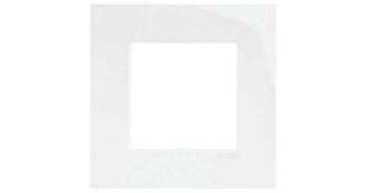 Одиночная рамка – белый 1