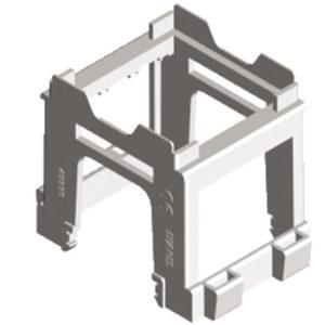 Адаптер для установки модулей 45х45 на DIN-рейку