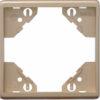 Одиночная рамка Apolo 5000 Metalized - платина
