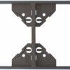 Вертикальная двойная рамка Apolo 5000 Metalized - графит