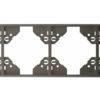 Вертикальная 4-ная рамка Apolo 5000 Metalized - графит
