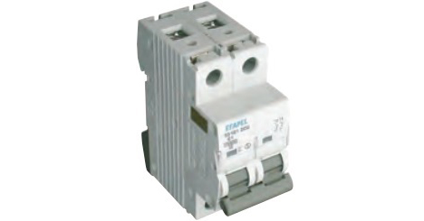 Выключатель автоматический МСВ 2Р 10kA – D  – 6 A 1