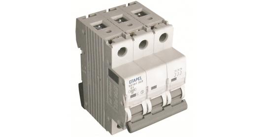 Выключатель автоматический МСВ 3Р 6kA – B – 16 A 1