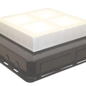 Коробка под заливку для люка на 16 модулей