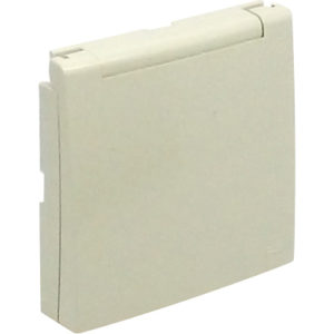 Лицевая панель для розетки 2к+З с защитной крышкой Logus90