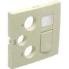 Лицевая панель для мультимедийных розеток R-TV-SAT-RJ45/R-TV-SAT-RJ45 - SC Logus90
