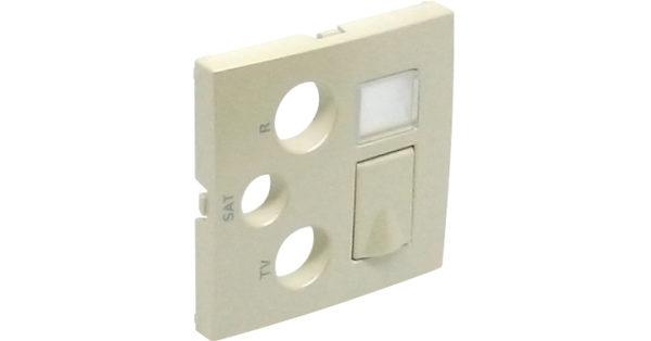Лицевая панель для розеток R-TV-SAT-RJ45/R-TV-SAT-RJ45 – SC Logus90 1