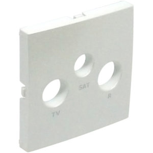 Лицевая панель для ТВ/Радио/Спутник розеток Logus90