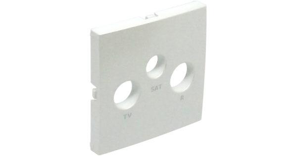 Лицевая панель для ТВ/Радио/Спутник розеток Logus90 1