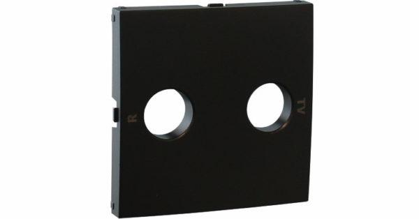 Лицевая панель для ТВ/Радио розеток Logus90 1
