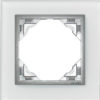 Одиночная рамка Logus90 Crystall