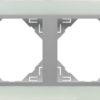 Двойная рамка Logus90 Crystall