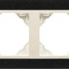 Двойная рамка Logus90 Petra