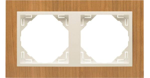 Двойная рамка Logus90 Arbore 1