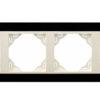 Четырехместная рамка Logus90 Crystall
